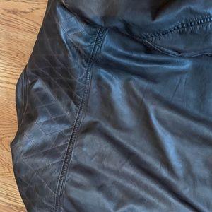 Buffalo David Bitton Jackets & Coats - Faux Brown Leather Jacket
